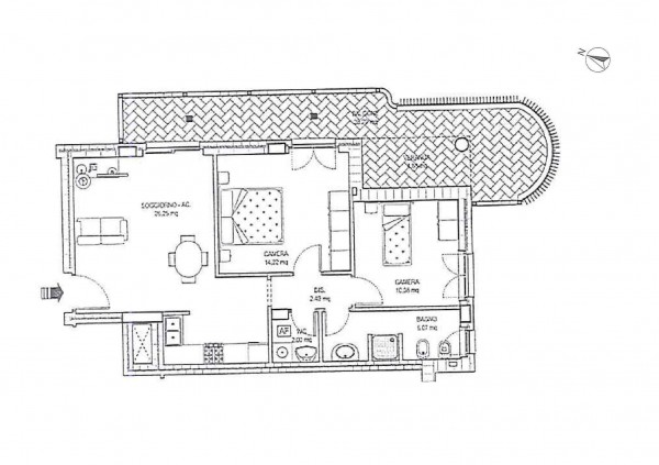 Appartamento in vendita a Roma, 81 mq - Foto 6