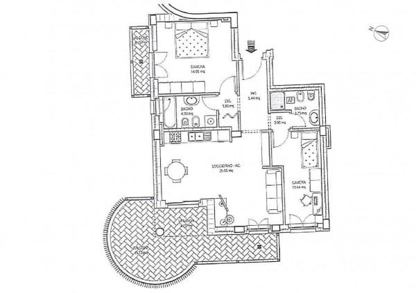 Appartamento in vendita a Roma, 81 mq - Foto 1