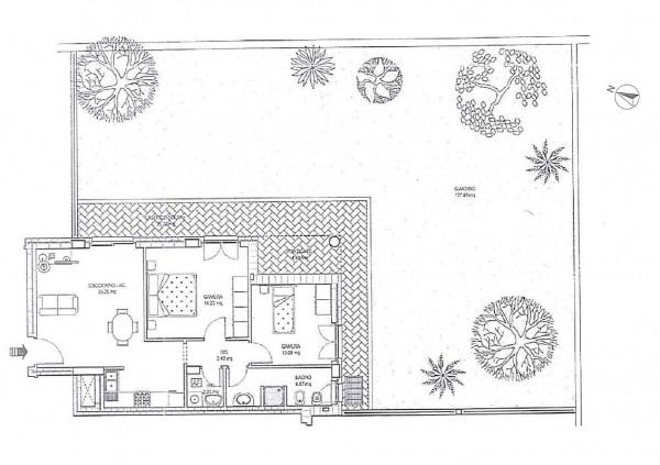 Appartamento in vendita a Roma, Con giardino, 78 mq