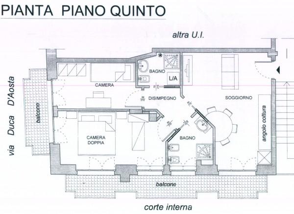 Trilocale in vendita a Asti, Ex Maternita, 85 mq