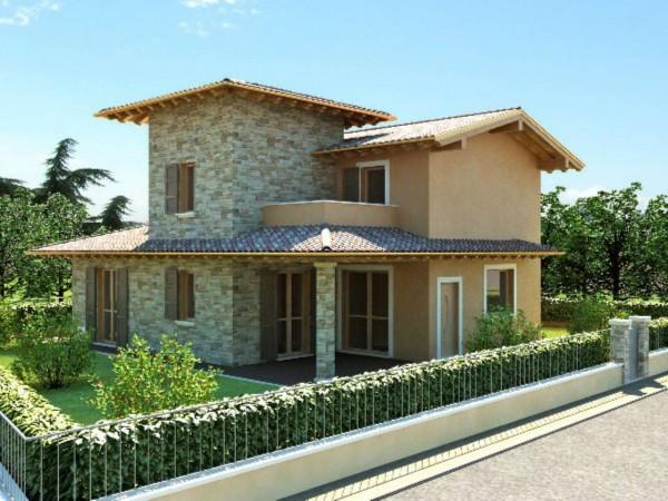 Villa in vendita a Travagliato, Con giardino, 620 mq - Foto 5
