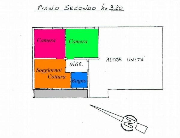 Appartamento in vendita a Padova, Con giardino, 70 mq - Foto 2