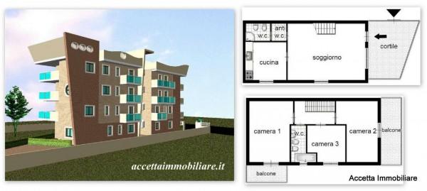 Appartamento in vendita a Taranto, Residenziale, Con giardino, 105 mq