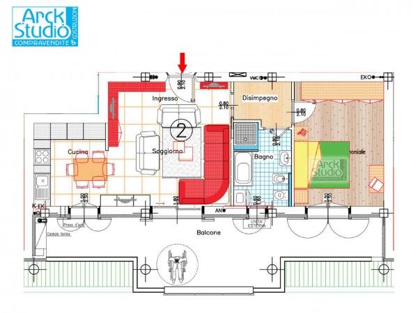 Appartamento in vendita a Pozzuolo Martesana, Via Iv Novembre, 88 mq