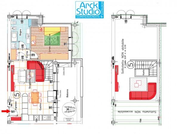 Appartamento in vendita a Pozzuolo Martesana, Via Iv Novembre, 114 mq