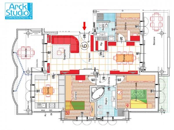 Appartamento in vendita a Pozzuolo Martesana, Via Iv Novembre, 156 mq