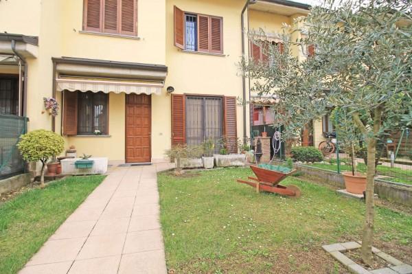Villetta a schiera in vendita a Cassano d'Adda, Con giardino, 175 mq - Foto 20
