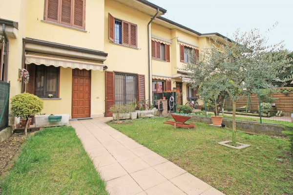 Villetta a schiera in vendita a Cassano d'Adda, Con giardino, 175 mq - Foto 5
