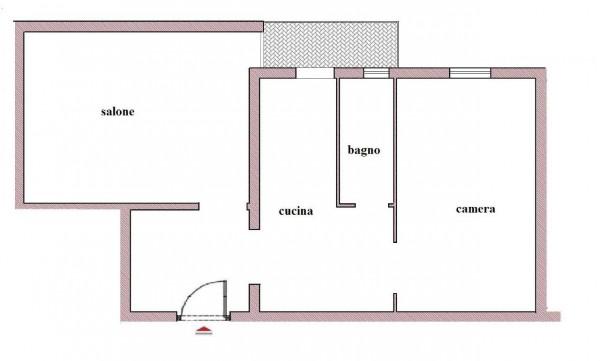 Appartamento in vendita a Roma, Esquilino, 57 mq - Foto 2