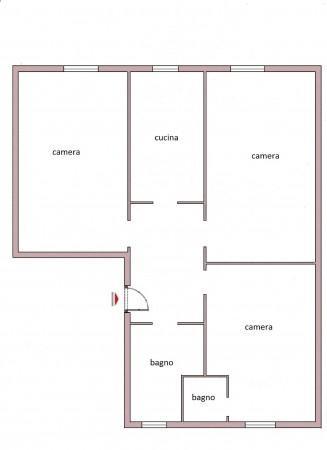 Immobile in affitto a Roma, Re Di Roma, Arredato, con giardino, 80 mq - Foto 3