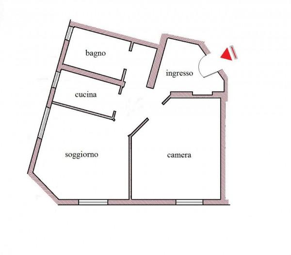 Appartamento in affitto a Roma, 65 mq - Foto 3