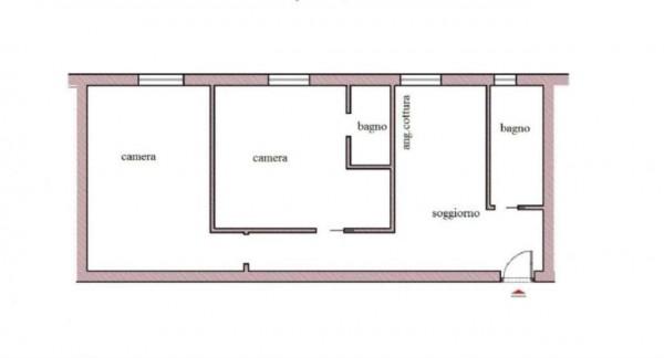Appartamento in affitto a Roma, San Giovanni, Arredato, con giardino, 75 mq - Foto 2