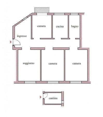 Appartamento in vendita a Roma, Con giardino, 114 mq - Foto 3