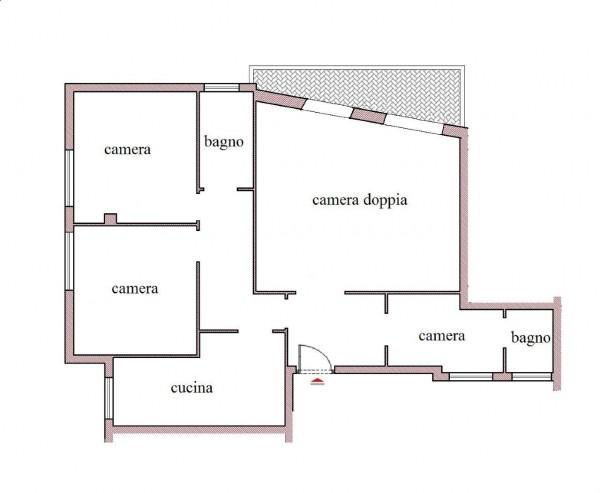 Appartamento in affitto a Roma, Arredato, con giardino, 126 mq - Foto 2