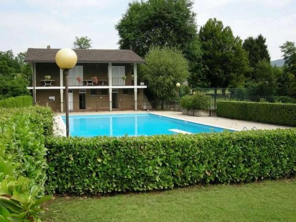 Villa in vendita a Bregano, Arredato, con giardino, 145 mq - Foto 49
