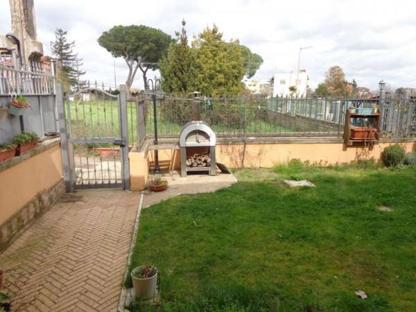 Villetta a schiera in vendita a Roma, Boccea Valle Santa, Con giardino, 130 mq - Foto 4