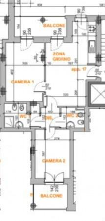 Appartamento in affitto a Grugliasco, Borgata Quaglia, 70 mq - Foto 9