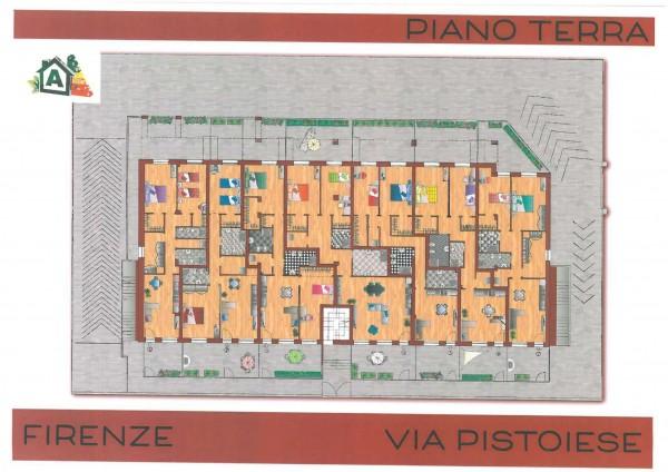 Casa indipendente in vendita a Firenze, Via Pistoiese, Con giardino, 75 mq - Foto 3