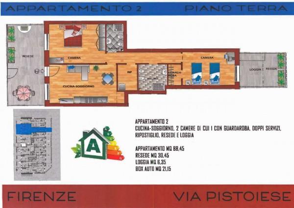 Casa indipendente in vendita a Firenze, Via Pistoiese, Con giardino, 75 mq - Foto 1