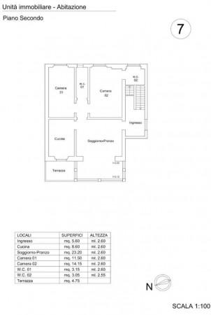 Appartamento in affitto a Firenze, Bolognese, Arredato, 80 mq - Foto 2