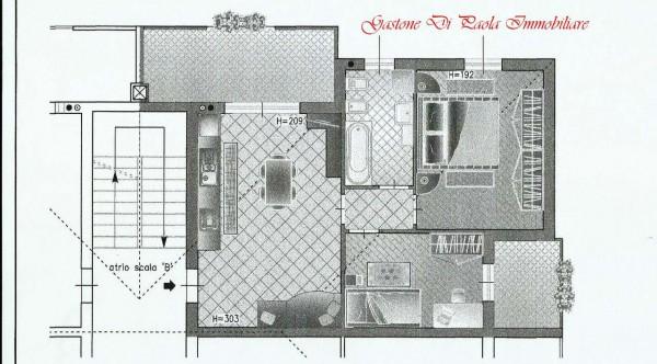 Appartamento in vendita a Cesate, Stazione, Arredato, con giardino, 79 mq - Foto 2