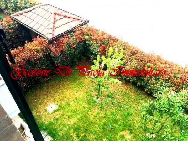 Appartamento in vendita a Cesate, Stazione, Arredato, con giardino, 79 mq - Foto 14