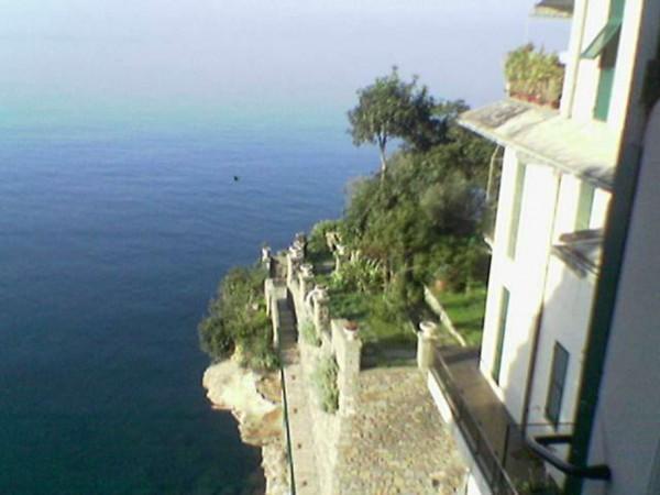 Appartamento in vendita a Pieve Ligure, Sul Mare, Arredato, con giardino, 40 mq