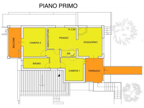 Appartamento in affitto a Bagno a Ripoli, Arredato, con giardino, 92 mq - Foto 3