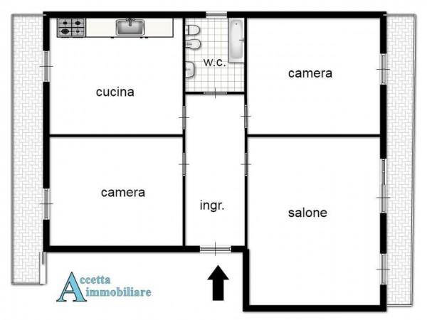 Appartamento in affitto a Taranto, Residenziale, Con giardino, 130 mq - Foto 2