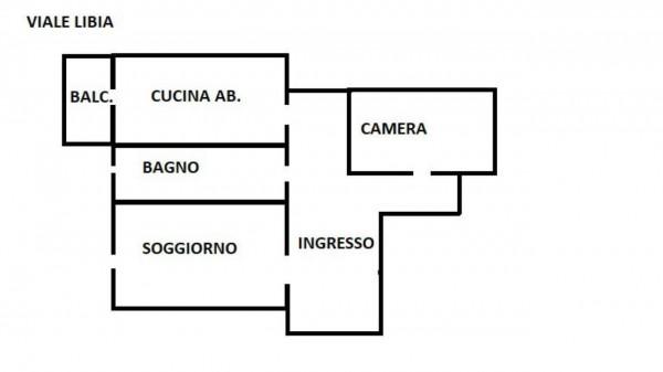 Appartamento in affitto a Roma, Libia, Arredato, 55 mq - Foto 1