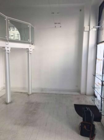 Negozio in affitto a Milano, Largo Treves, 80 mq