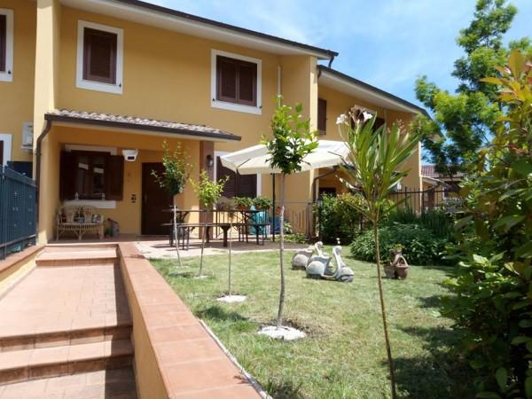 Villetta a schiera in vendita a Magione, Magione, Con giardino, 140 mq