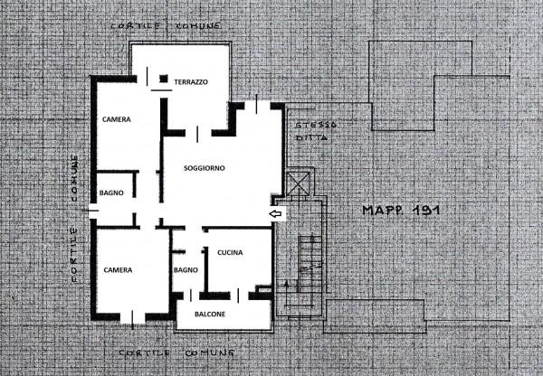 Appartamento in vendita a Locate di Triulzi, 95 mq - Foto 2