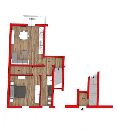 Appartamento in vendita a Firenze, 74 mq