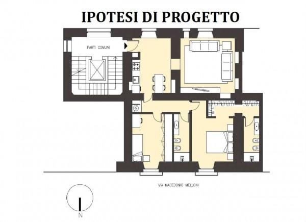 Appartamento in vendita a Milano, 98 mq - Foto 2