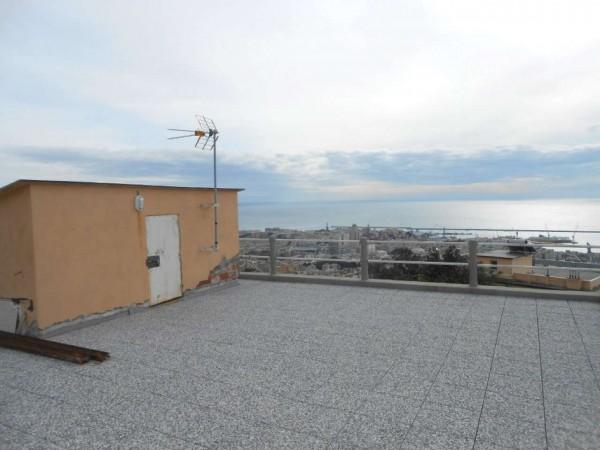 Appartamento in vendita a Genova, Adiacenze Via Piaggio, Con giardino, 117 mq - Foto 26