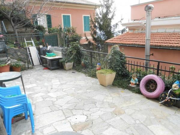 Appartamento in vendita a Genova, Adiacenze Via Piaggio, Con giardino, 117 mq - Foto 31