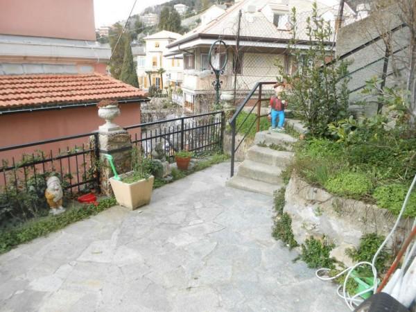 Appartamento in vendita a Genova, Adiacenze Via Piaggio, Con giardino, 117 mq - Foto 63