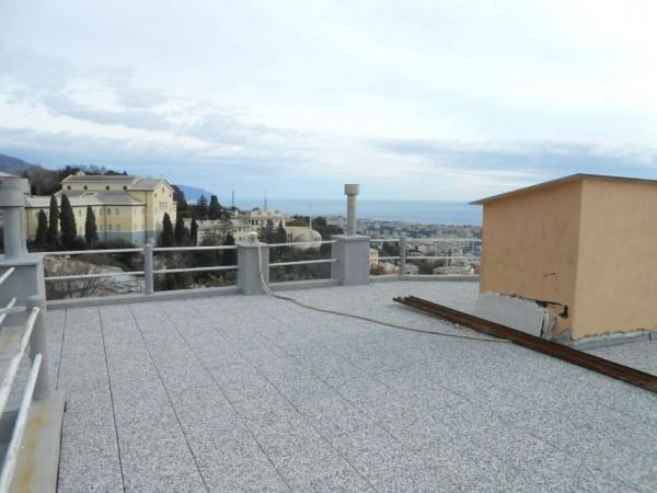 Appartamento in vendita a Genova, Adiacenze Via Piaggio, Con giardino, 117 mq - Foto 25