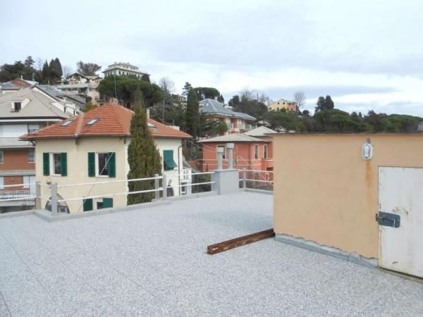 Appartamento in vendita a Genova, Adiacenze Via Piaggio, Con giardino, 117 mq - Foto 22