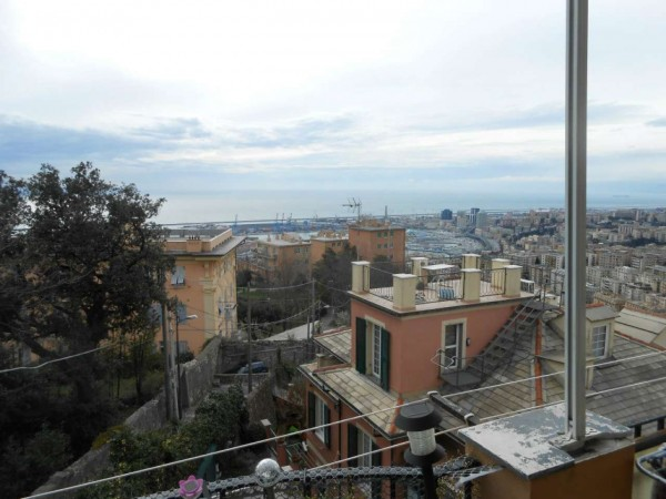 Appartamento in vendita a Genova, Adiacenze Via Piaggio, Con giardino, 117 mq - Foto 3
