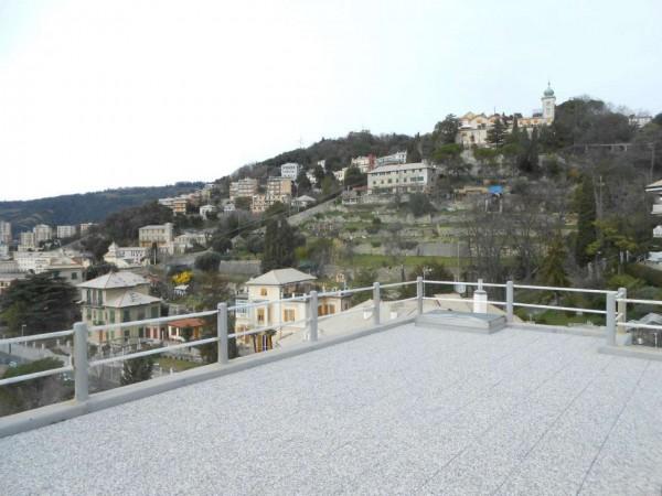 Appartamento in vendita a Genova, Adiacenze Via Piaggio, Con giardino, 117 mq - Foto 21