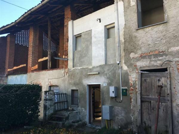 Appartamento in vendita a Rivarolo Canavese, Bonaudi, Con giardino, 40 mq