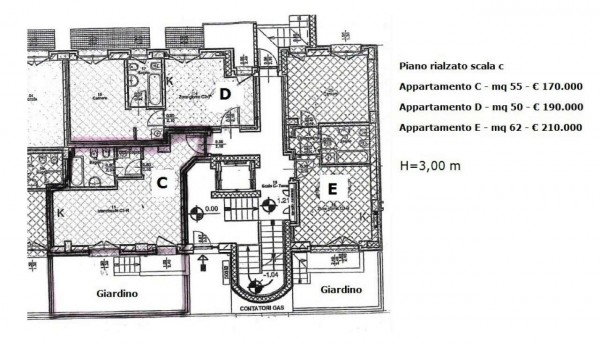 Appartamento in vendita a Milano, Precotto, 55 mq - Foto 2