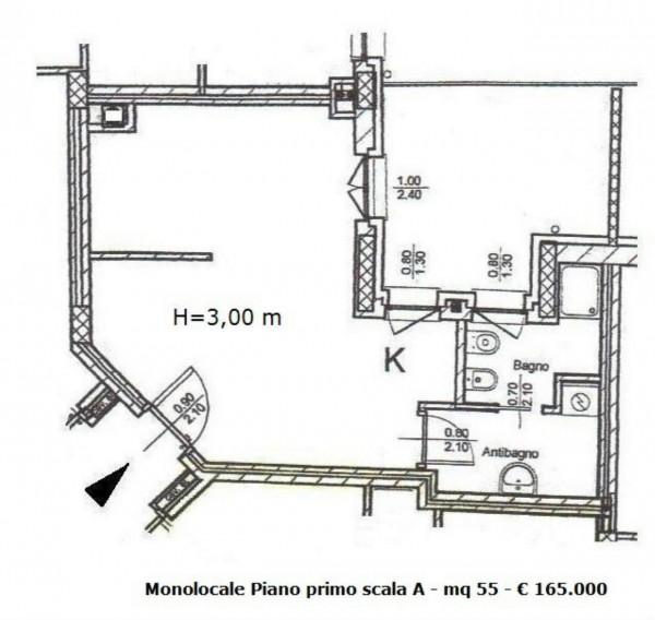 Appartamento in vendita a Milano, Precotto, 55 mq - Foto 3