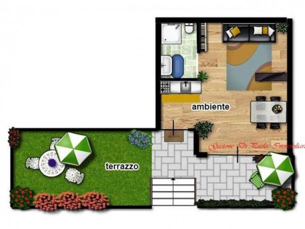 Appartamento in affitto a Milano, Citta' Studi, Arredato, 28 mq