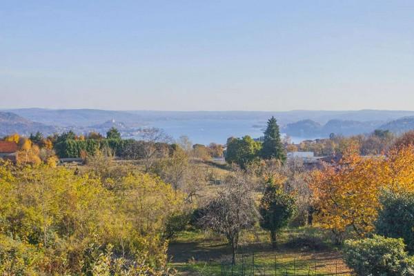 Appartamento in vendita a Nebbiuno, Case Sparse Campiglia, Con giardino, 90 mq