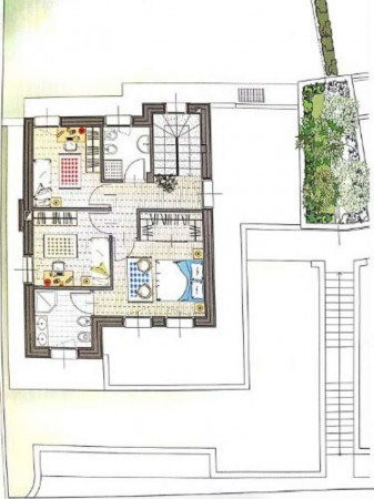 Villa in vendita a Clivio, Con giardino, 220 mq - Foto 2