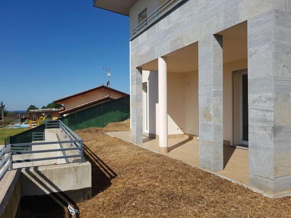 Villa in vendita a Clivio, Con giardino, 220 mq - Foto 34