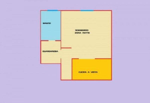 Appartamento in affitto a Forlì, Centro, Arredato, 50 mq - Foto 2